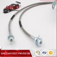 Wholesale SAE J1401 standard stainless steel braided flexible metal brake hose line from china suppliers