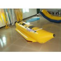 Wholesale Summer Single Lane Inflatable Fly Fishing Boats 3 Person Team Banana Boat Race from china suppliers