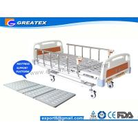 Wholesale CE FDA ISO Three Function Full Electric luxury Hospital Bed ABS , Aluminum Alloy from china suppliers