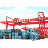 Buy cheap Double Girder Port Gantry Crane RMG 35 Ton Mobile Container Gantry Crane from wholesalers