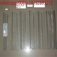Wholesale Galvanized Metal Rib Lath for Construction/Stainless Steel Expanded Metal Flat Rib Lath/Ribbed Lath / Expanded Rib Lath from china suppliers