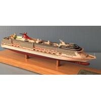 Wholesale Legend Carnival Cruise Ship Models , Container Ship Models With Blister Packaging from china suppliers
