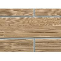Wholesale Wood Like Flexible Wall Tiles , Decorative Ceramic Tile Modified Clay Material from china suppliers