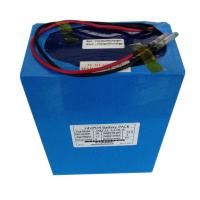 Wholesale Customized 24V LiFePO4 Battery Pack ,  Rechargeable Li-polymer batteries At 20AH Capacity With High Energy Density from china suppliers