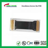 Wholesale Sillkscreen Flexible PCB Fabrication , Mobile Phone PCB Board Black Solder Mask from china suppliers