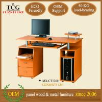 Quality TCG classic wooden modern computer desk for sale