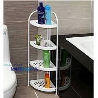 Wholesale Detachable Convenient Bathroom Plastic Corner Rack Shelf for Living Room or Bedroom from china suppliers