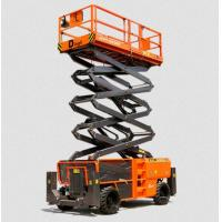 China Vertical Electric Mobile Scissor Lift / Scaffolding Aerial Lift Work Platform on sale