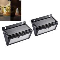Wholesale 46 Led Street Lighting Solar Sensor Outdoor Lights With Motion Sensing Black Color from china suppliers