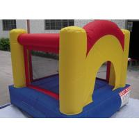 Wholesale Yellow Small Commercial Bounce Houses For Kids With 210d Oxford Fabric from china suppliers