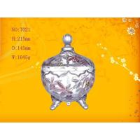 Wholesale Mini Round Candy Glass Bowl Bottle ,  2 Foot from china suppliers