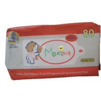 Wholesale Disinfectant Travel Antibacterial Wet Wipes / Nice And Clean Baby Wipes from china suppliers
