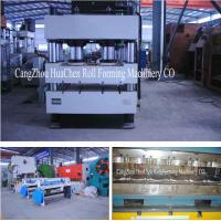 Wholesale Stone Coated Metal Rood Tile Roll Forming Production Line High Capacity from china suppliers