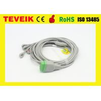 Buy cheap Integrated GE marquette 5leads  Snap ECG Cable For Patient Monitor from wholesalers