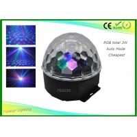 Wholesale Auto Mode Disco Ball Led Lights , Led  Magic Ball CE RoHS For Stage Lighting from china suppliers