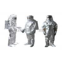 Wholesale High Temperature Aluminized Fire Proximity Protective Clothing Suit Thermal Insulation from china suppliers
