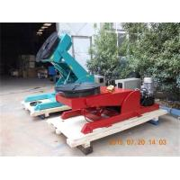 Wholesale Hydrulic Lifting Welding Rotating Table Postiioner , 90° Tilting Rotary Indexing Table from china suppliers