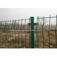 Buy cheap Soft Steel Garden Mesh Fencing / PVC Coated Galvanized Welded Wire Fence from wholesalers