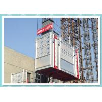 Wholesale Galvanized Tower Building Hoist Construction Elevator rental hoist from china suppliers