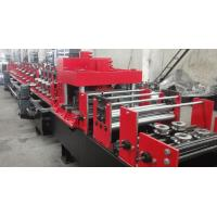 Wholesale Dual Holes Punching C Purlin Roll Forming Machine Hydraulic 14 MPa Work Pressure from china suppliers