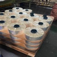 120mm Heat Shrink Transparent Cigarette Bopp Film For Packaging