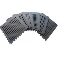 Wholesale BLACK 60*60cm holes foam eva square rubber interlocking jigsaw Outdoor Jigsaw mat from china suppliers