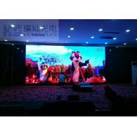 Wholesale Lightweight 4G 3G WIFI Control Indoor LED Displays 2200 nit MBI5124IC Linsn / Nova from china suppliers