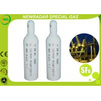 Quality Industry Electronic Gases Sulfur Hexafluoride Gas Gaseous Dielectric Medium for sale