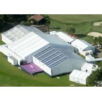 Wholesale 15m Width Clear Span Aluminum Frame White Used Event Tent With Air Condition System from china suppliers