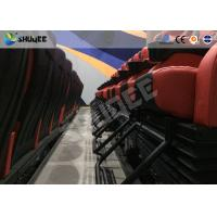 Wholesale Red / Black 4D Movie Theater chair For 4DM large cinema , Free to design cinema schema from china suppliers