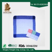 Wholesale Strong Absorption Kitchen Tea Towels White and Blue Checker Dish Towels 35*55cm from china suppliers