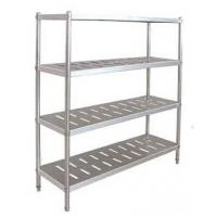Wholesale Industrial Mobile Commercial Stainless Steel Storage Shelves For Hotel / Restaurant from china suppliers