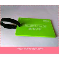 Wholesale Best price custom rubber plastic souvenir luggage baggage tag from china suppliers