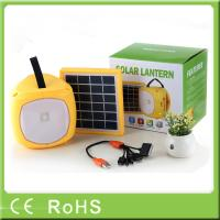 Wholesale Wholesale with radio funtion outdoor hanging rechargeable camping led lantern from china suppliers