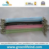 Wholesale Hot Selling Transparent Slim Long Coiled Cable W/Metal Hooks from china suppliers