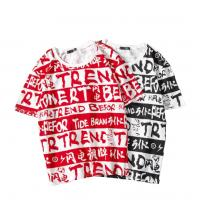 Wholesale Funky Sublimation On Cotton Shirts , All Over Print Sublimated Running Shirts from china suppliers