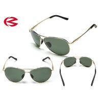 Wholesale Multi Lenses Mirrored Aviator Sunglasses , Flip Up Wrap Around Sunglasses from china suppliers