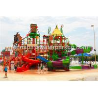 Wholesale Giant Aqua Park / Water Park Slides Integrated Amusement Ride With N Slide from china suppliers