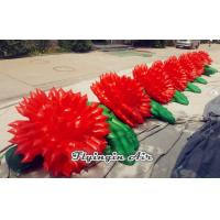 Wholesale 8m Inflatable Rose String, Inflatable Wedding Flower Chain for Wedding from china suppliers