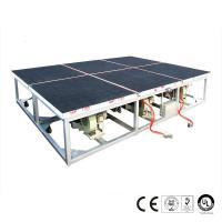 Wholesale Air Float Glass Breaking Table , Glass Crusher Machine Belt Driven from china suppliers