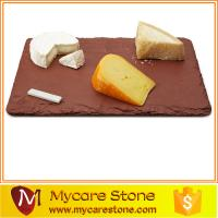 Wholesale 2015 popular restaurant red slate cheese board from china suppliers