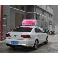 Wholesale P6.67 outdoor taxi roof led display Brightness 1800mcd 3G WIFI RGB die cast auminum from china suppliers