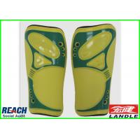 Quality Brand Plastic Football Shin Pad Ice Hockey Shin Guards Ventilate Design for sale