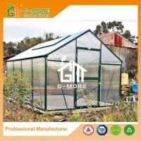 Wholesale 406x306x244cm Green Color 10mm Thick Polycarbonate Aluminum Plant's house from china suppliers