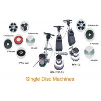 Wholesale Single Disc Concrete Floor Cleaning Machine / Buffing Floor Polishing Equipment from china suppliers