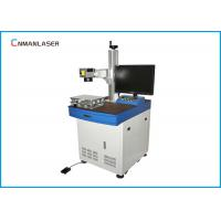 Wholesale Automatic Semiconductor 20w Rings Gears Metal Laser Marking Machine With Red Light from china suppliers