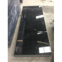 Quality China absolute black shanxi black granite rectangle monument on sale for sale