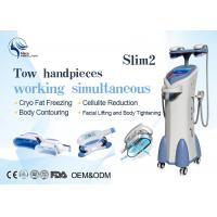 Wholesale Vacuum Four Handles Coolsculpting Cryolipolysis Machine For Body Slimming from china suppliers
