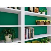 Quality Economical Deep Green Color PVC Self Adhesive Wallpaper With Printed Process for sale