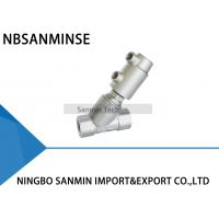 Buy cheap JDF900 - 1 JDF900 - 2 Pneumatic Angle Seat Valve Vertical Filling Thread Connection from wholesalers